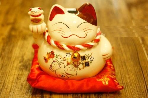 Blog đam mê phong thủy - mèo may mắn