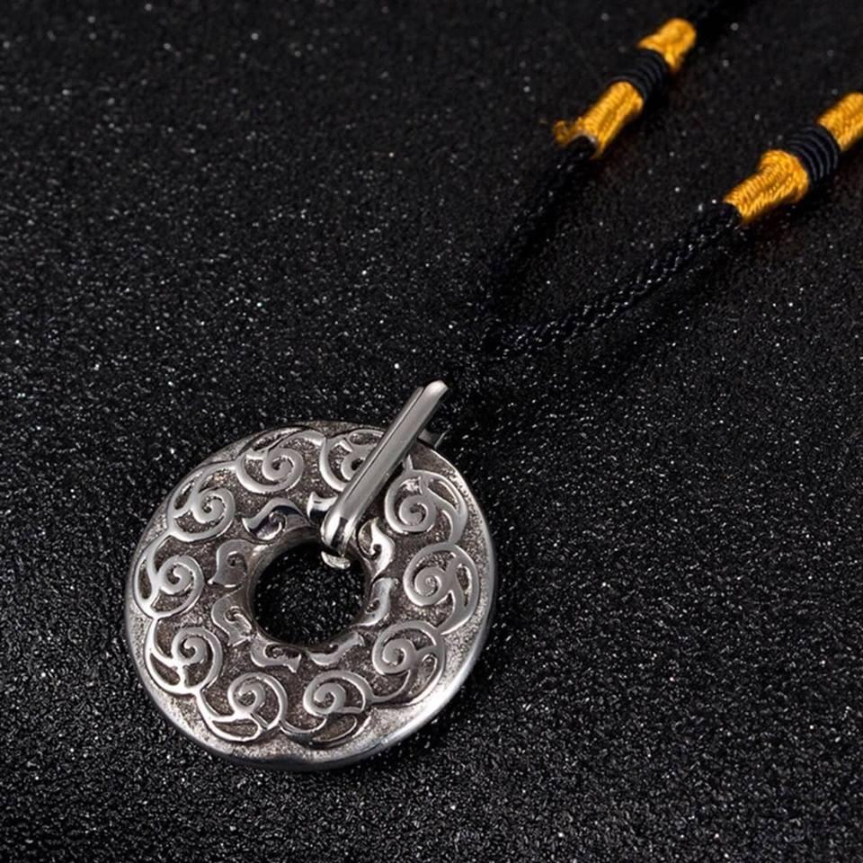 Đồng xu may mắn Tibetan Lucky Amulet thỉnh từ Tây Tạng
